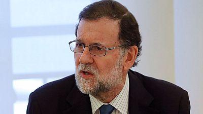 """Rajoy: """"Los delirios autoritarios y frentistas nunca podrán vencer al equilibrio de nuestro Estado democrático"""""""