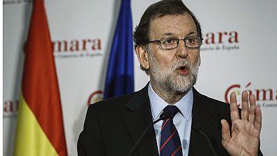 """Rajoy: """"Los delirios autoritarios y frentistas nunca podrán vencer al equilibrio del Estado"""""""
