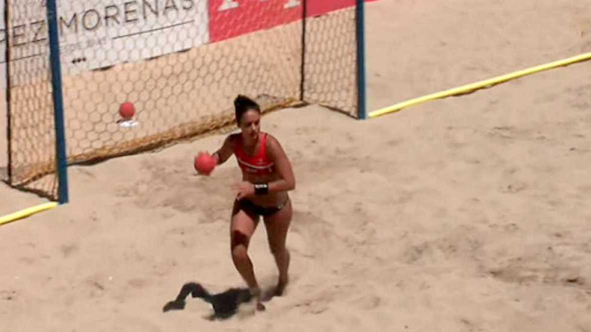 Balonmano Playa - Arena Handball Tour 2 Prueba Bueu. Resumen - ver ahora
