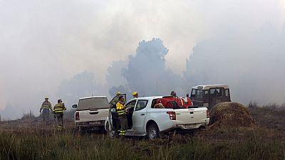 Un incendio en Navalilla, Segovia, arrasa más de 400 hectáreas