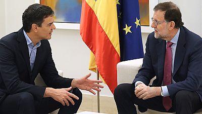 Rajoy y Sánchez coinciden en que el referéndum catalán no se va a celebrar