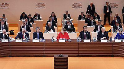 El G-20 arranca con sus debates en Hamburgo