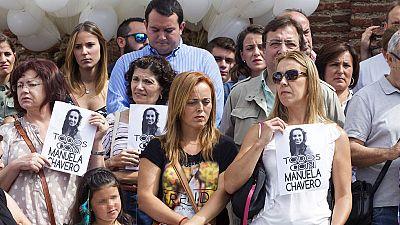 Una concentración en Monesterio recuerda la desaparición de Manuela Chavero hace una año