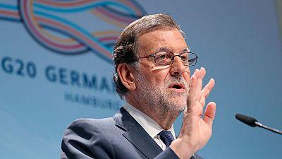 """Rajoy considera """"injusto"""" que Leopoldo López siga sin ser """"libre"""" y reconoce el papel de Zapatero como mediador político"""