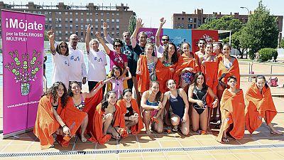 España se moja por la esclerosis múltiple