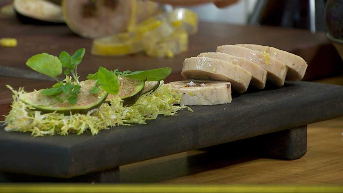 Torres en la cocina - Terrina de pollo con foie