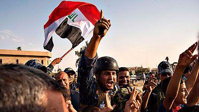 Irak celebra la recuperación de Mosul
