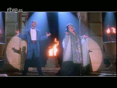 """Historia de TVE - Video clip """"Barcelona"""" con Montserrat Caballé y Freddie Mercury"""