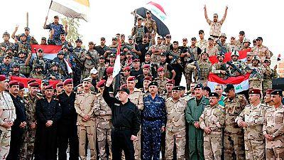 Irak proclama su victoria en Mosul