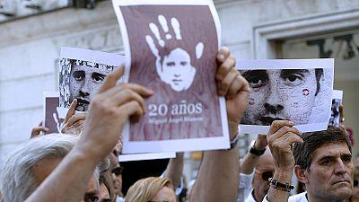 """El Ayuntamiento de Madrid desplegará una pancarta en recuerdo de Blanco y """"todas las víctimas"""""""