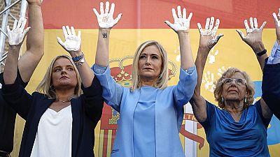 Homenajes a Miguel Ángel Blanco en Madrid, con abucheos a la alcaldesa