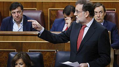 """Rajoy asegura que las reprobaciones a Montoro y Catalá """"no le obligan a tomar ninguna decisión"""""""