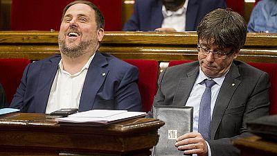 Carles Puigdemont ha explicado en el Parlament por qué cesó al consejero Baiget