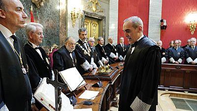 Alejandro Luzón toma posesión como nuevo fiscal jefe Anticorrupción