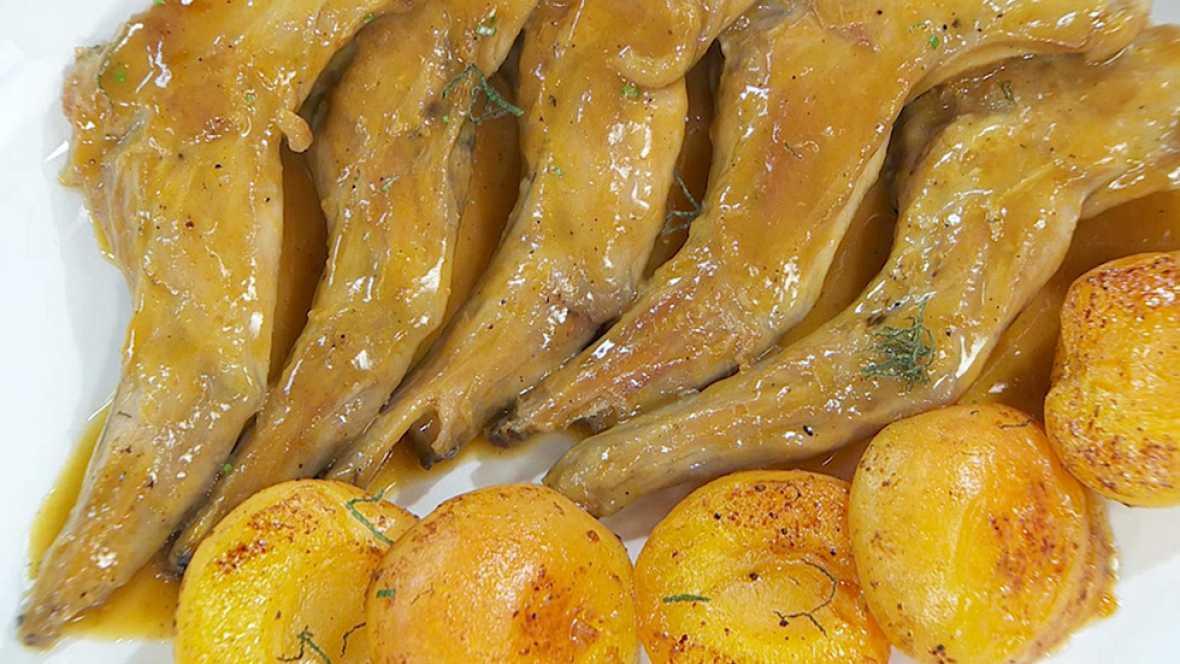Torres en la cocina - Conejo con albaricoque
