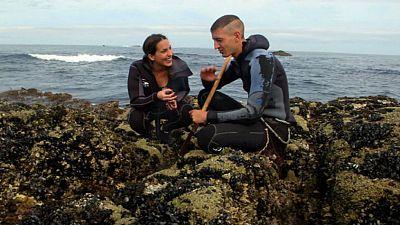 Percebeiros, luchadores del mar