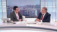 Los desayunos de TVE - Jaime Mayor Oreja, ex ministro del Interior y Carlos Totorika, alcalde de Ermua - ver ahora