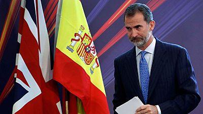 """El rey pide minimizar la incertidumbre de las empresas españolas ante el """"brexit"""""""