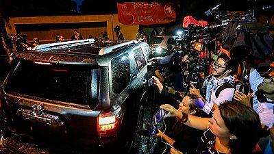 El  opositor venezolano, Leopoldo López, se reunió en Caracas con el ex presidente Rodríguez Zapatero