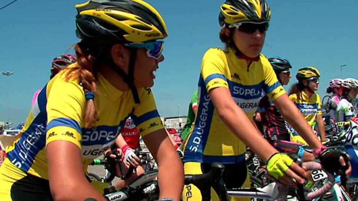 Ciclismo - Copa de España Féminas Prueba Marín (Pontevedra) - ver ahora