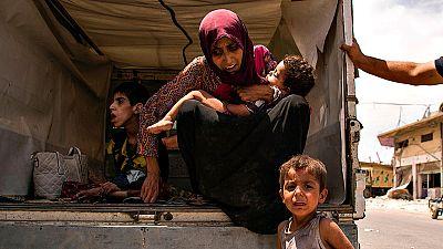 Más de 600.000 niños han sufrido la crisis humanitaria provocada por la batalla de Mosul
