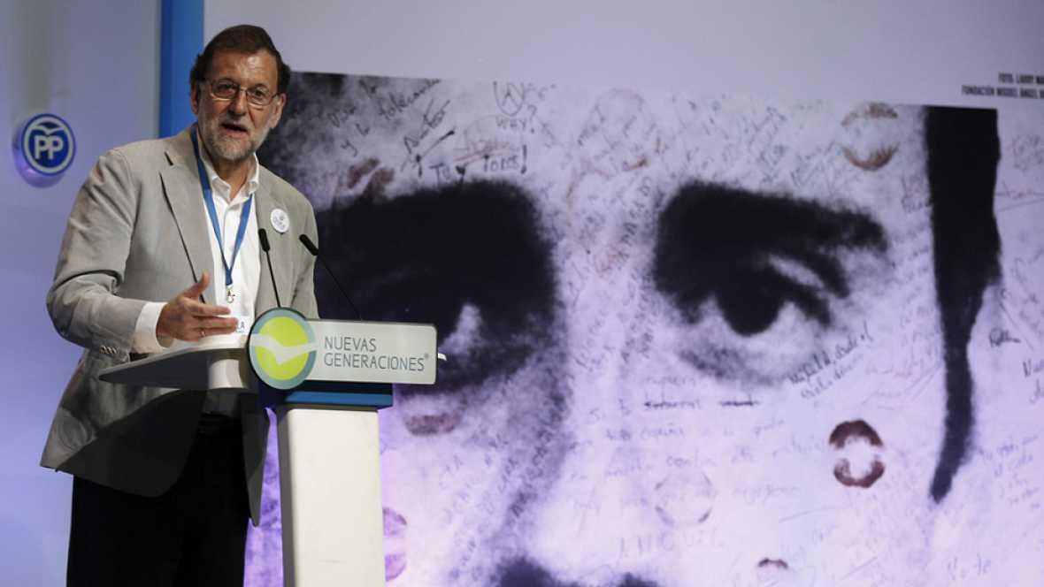 """Rajoy: """"La ley se va a cumplir, el Estado de derecho va a prevalecer y el referéndum no se va a celebrar"""""""