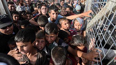 Un millón de personas han abandonado Mosul desde que comenzó la ofensiva