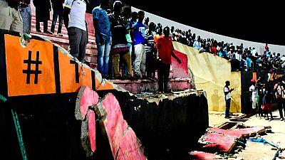 Al menos nueve muertos en una avalancha en un campo de fútbol en Senegal