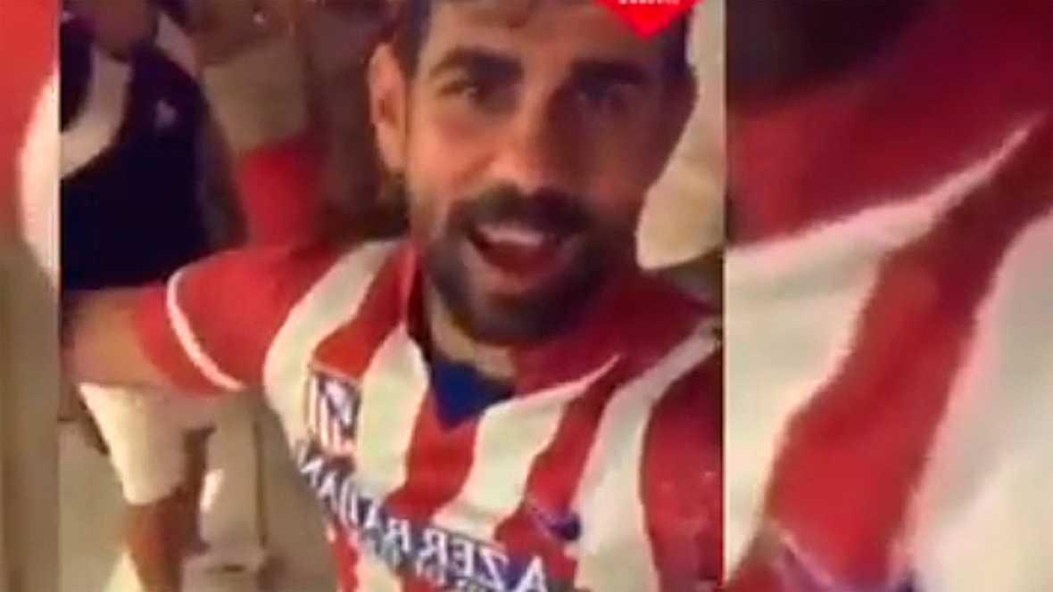 El delantero hispanobrasileño se ha dejado ver con la camiseta del Atlético en su cuenta de Instagram mientras negocia su salida del Chelsea para regresar al club rojiblanco.