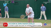 El listillo del tenis