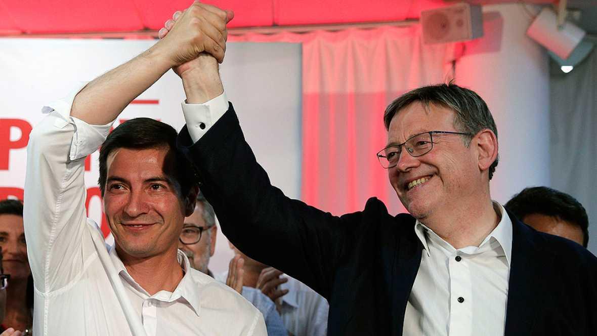 Puig y Vara seguirán al frente del PSOE en la Comunidad Valenciana y Extremadura