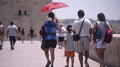 El calor persiste en toda España