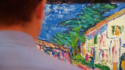 """'Arte para sanar el alma"""" una iniciativa que une al hospital de la Fuenfría de Madrid y al Museo Thyssen"""