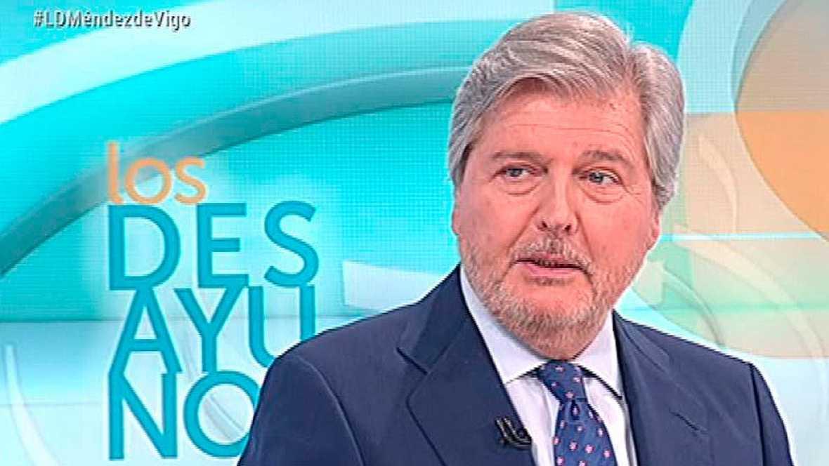 """Méndez de Vigo: """"Las leyes son iguales para todos"""""""