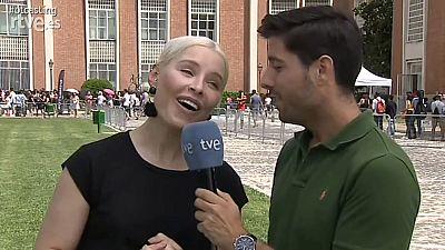 Soraya llega llorando al Casting de Madrid