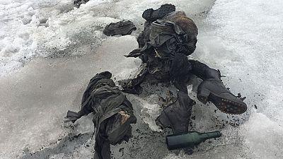 Hallan en los Alpes los cadáveres intactos de un pareja desaparecida en la Segunda Guerra Mundial