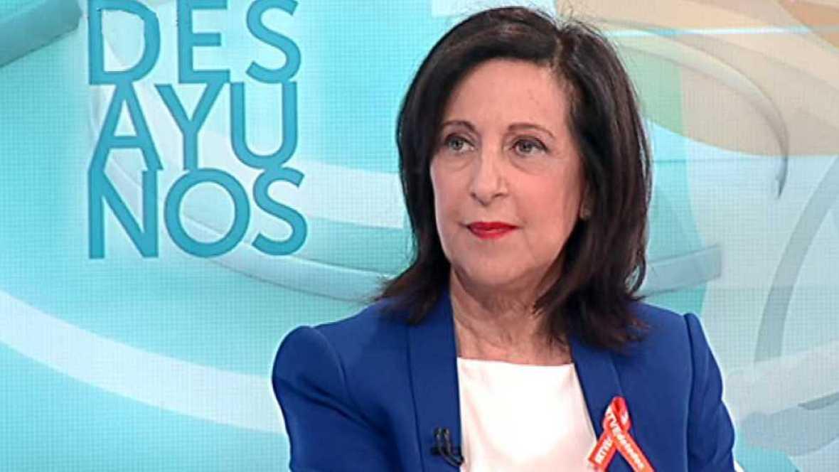 Los desayunos de TVE - Margarita Robles, portavoz del PSOE en el Congreso de los Diputados - ver ahora