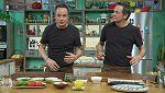 Torres en la cocina - Sardinas con quinoa y corvina con naranja