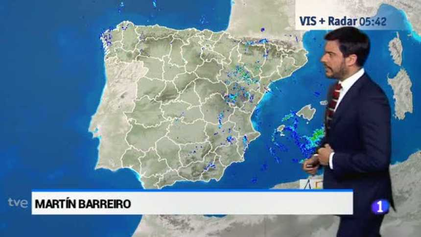 El tiempo en Andalucía - 19/07/2017