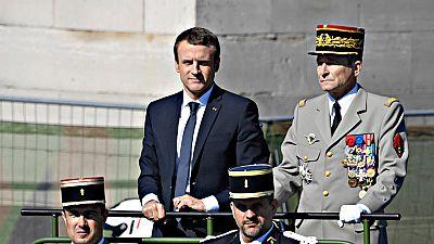 Dimite el Jefe del Estado Mayor francés por discrepancias con Emmanuel Macron