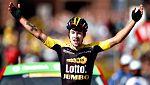 Roglic gana en los Alpes y Froome conserva el liderato