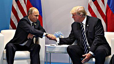 Trump y Putin mantuvieron una segunda reunión durante el G20