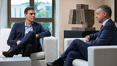 Sánchez quiere sumar al PNV a una reforma constitucional que reconozca al País Vasco como nación