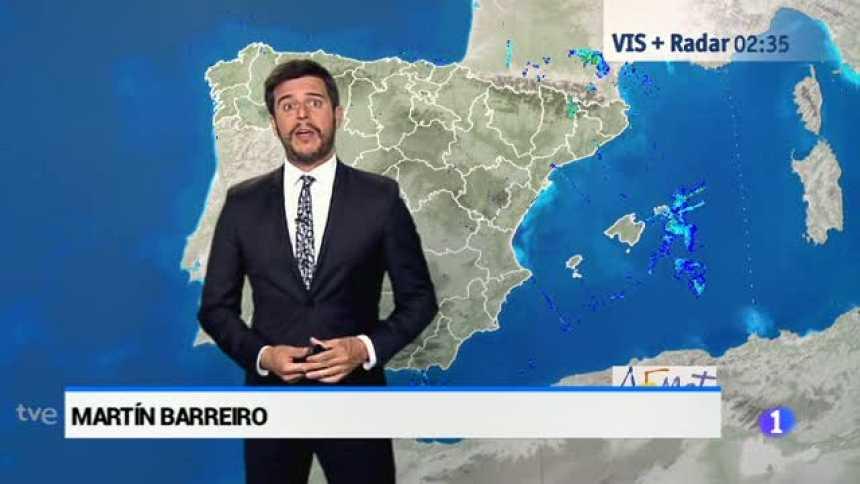 El tiempo en Andalucía - 20/07/2017