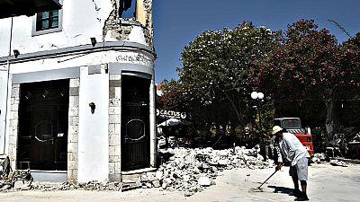 Un potente terromoto deja dos muertos en la isla griega de Kos