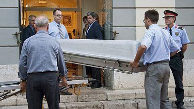 Exhumados los restos de Dalí para la extracción de ADN