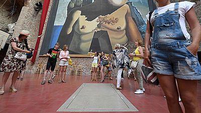 El Museo Dalí vuelve a la normalidad después de la exhumación de los restos del pintor