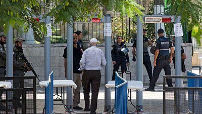 Palestina exige la retirada de los detectores de metal colocados en el acceso a la mezquita Al-Aqsa