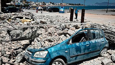 La isla griega de Kos intenta recuperar la normalidad tras el terremoto