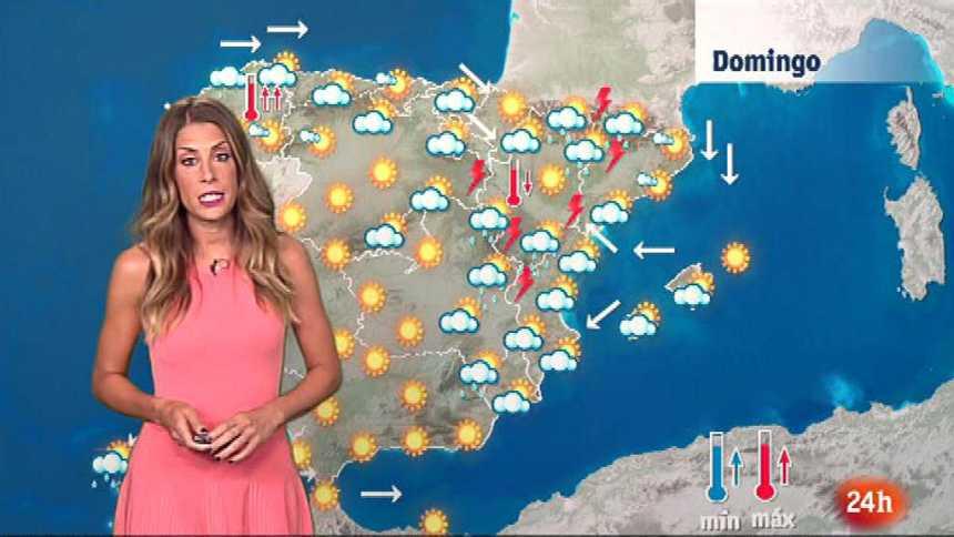 Fuertes tormentas en Aragón, Castilla-La Mancha, Cataluña y Castellón
